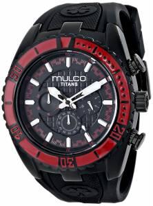 [マルコ]MULCO 腕時計 Titan Wave Analog Display Japanese Quartz Black Watch MW5-1836-065 ユニセックス [並行輸入品]