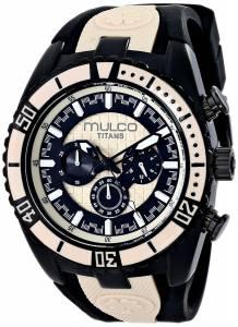[マルコ]MULCO 腕時計 Titan Wave Analog Display Japanese Quartz Black Watch MW5-1836-115 ユニセックス [並行輸入品]