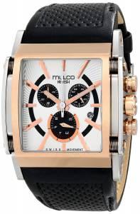 [マルコ]MULCO 腕時計 Analog Display Swiss Quartz Black Watch MW1-29785-123 ユニセックス [並行輸入品]