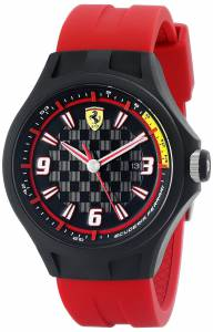 [フェラーリ]Ferrari 腕時計 Pit Crew Analog Display Quartz Red Watch 0830002 メンズ [並行輸入品]