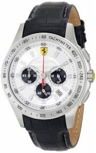 [フェラーリ]Ferrari 腕時計 Analog Display Japanese Quartz Black Watch 0830038 メンズ [並行輸入品]