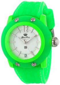 [グラムロック]Glam Rock 腕時計 Miss Miami Beach White Dial Green Silicone Watch GR23015-DBZ レディース [並行輸入品]