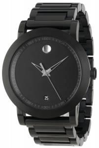 [モバード]Movado 腕時計 Sport Museum Black Stainless Steel Watch 0606615 メンズ [並行輸入品]