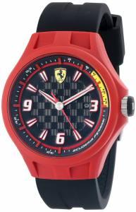 [フェラーリ]Ferrari 腕時計 Pit Crew Analog Display Quartz Black Watch 0830006 メンズ [並行輸入品]