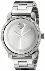 [モバード]Movado 腕時計 Bold Analog Display Swiss Quartz Silver Watch 3600149 レディース [並行輸入品]