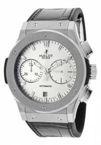 [ウブロ]Hublot 腕時計 Classic Fusion Automatic Chronograph Silver Dial Black メンズ [並行輸入品]