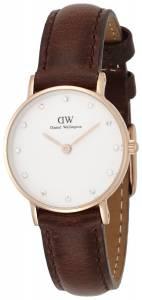 [ダニエル ウェリントン]Daniel Wellington 腕時計 Bristol Analog Display Quartz Brown Watch 0903DW レディース [並行輸入品]