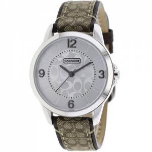 [コーチ]Coach 腕時計 Classic Signature Logo Leather Strap Watch 14501607 レディース [並行輸入品]