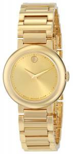 [モバード]Movado 腕時計 Concerto GoldPlated Watch 0606704 レディース [並行輸入品]