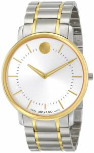 [モバード]Movado 腕時計 TC TwoTone Stainless Steel Bracelet Watch 0606689 メンズ [並行輸入品]