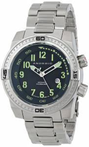 [アンドロイド]Android 腕時計 Frontline Analog JapaneseAutomatic Grey Watch AD659BK メンズ [並行輸入品]