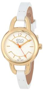 [イーエスキューモバード]ESQ Movado 腕時計 Status GoldPlated and Stainless Steel Dress Watch 7101450 レディース [並行輸入品]