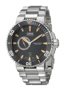 [オリス]Oris 腕時計 Aquis Analog Display Swiss Automatic Silver Watch 74376734159MB メンズ [並行輸入品]