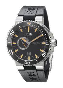 [オリス]Oris 腕時計 Aquis Analog Display Swiss Automatic Black Watch 74376734159RS メンズ [並行輸入品]