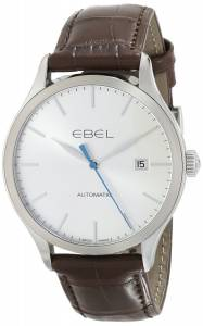 [エベル]EBEL 腕時計 100 Stainless Steel Automatic Watch with Leather Band 1216088 メンズ [並行輸入品]