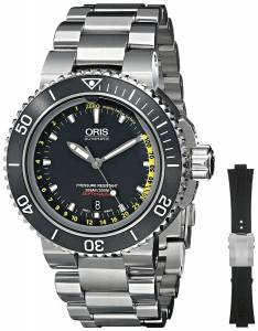 [オリス]Oris SET Analog Display Automatic Self Wind Silver Watch with Extra Black 73376754154