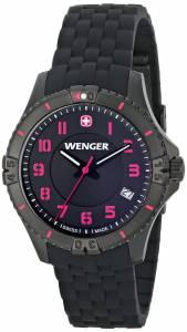 [ウェンガー]Wenger 腕時計 Analog Display Swiss Quartz Black Watch 0121.105 レディース [並行輸入品]