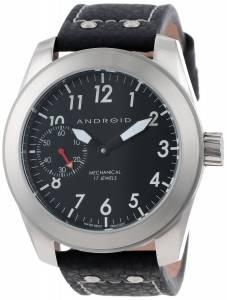 [アンドロイド]Android 腕時計 Skyguardian Analog MechanicalHandWind Black Watch AD617BK メンズ [並行輸入品]
