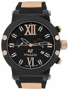 [マルコ]MULCO 腕時計 Nuit Black Dial Black Rubber Watch MW311010024 ユニセックス [並行輸入品]