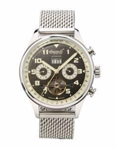 [インガソール]Ingersoll 腕時計 Crokett Analog Display Automatic Self Wind Silver Watch IN1308BKMB メンズ [並行輸入品]