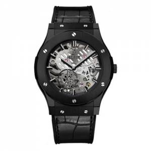 [ウブロ]Hublot 腕時計 Classic Fusion Classico Ultra-Thin All Black Manual Watch 515.CM.0140.LR メンズ [並行輸入品]