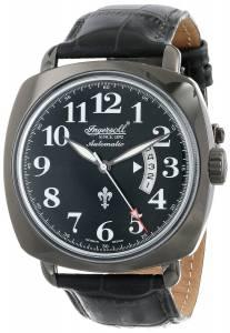 [インガソール]Ingersoll  Black Jack Analog Display Automatic Self Wind Black Watch IN1002BBK