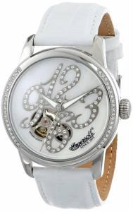 [インガソール]Ingersoll 腕時計 Blues Analog Display Automatic Self Wind White Watch IN4901WH レディース [並行輸入品]