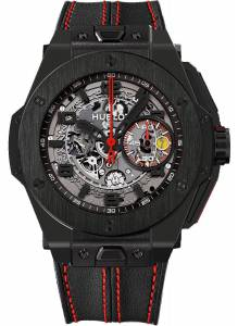 [ウブロ]Hublot 腕時計 Big Bang Ferrari All Black Limited Edition - 401.CX.0123.VR [並行輸入品]