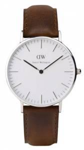 [ダニエル ウェリントン]Daniel Wellington 腕時計 Classic Bristol Silvertone Women´s 36mm Round Case 0611DW [並行輸入品]