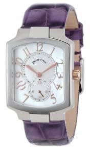 [フィリップ ステイン]Philip Stein 腕時計 Stainless Steel Watch with Leather Band 21-RGMOP-LAPR レディース [並行輸入品]
