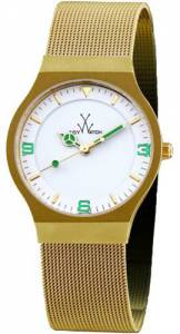 [トイウォッチ]Toy Watch 腕時計 ToyWatch Mesh Gold Tone Stainless Steel Watch MH12GD レディース [並行輸入品]