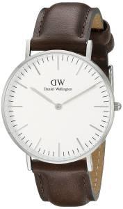[ダニエル ウェリントン]Daniel Wellington 腕時計 Bristol Analog Display Quartz Brown Watch 0611DW レディース [並行輸入品]