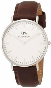 [ダニエル ウェリントン]Daniel Wellington 腕時計 Classic Cardiff Lady Silver 0612DW [並行輸入品]