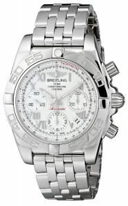 [ブライトリング]Breitling 腕時計 Analog Display Swiss Automatic Silver Watch AB014012-A747 メンズ [並行輸入品]