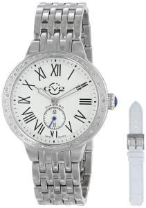 [ジェビル]GV2 by Gevril 腕時計 Astor DiamondStudded Stainless Steel Watch 9100 レディース [並行輸入品]