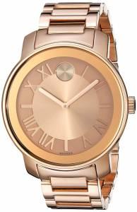 [モバード]Movado 腕時計 Bold Analog Display Swiss Quartz Rose Gold Watch 3600199 レディース [並行輸入品]