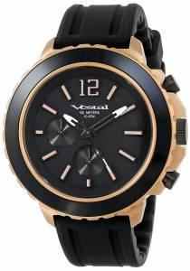 [ベスタル]Vestal 腕時計 Yacht Rose Gold Black Watch YATCS04 ユニセックス [並行輸入品]