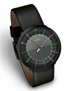 [ボッタデザイン]Botta-Design 腕時計 DUO BLACK EDITION Watch, Leather Strap, 258010BE メンズ [並行輸入品]