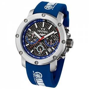 [ティーダブルスティール]TW Steel Yamaha Factory Chronograph Racing Blue Silicone TW-924