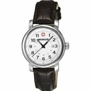 [ウェンガー]Wenger 腕時計 Urban Classic Silver Sunray Textured 1021.101 レディース [並行輸入品]