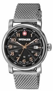 [ウェンガー]Wenger 腕時計 Urban Classic Swiss Army Black Sunray Textured 1041.106 [並行輸入品]