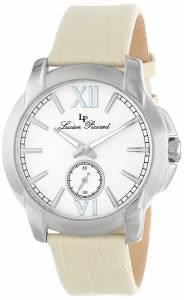 [ルシアン ピカール]Lucien Piccard Cordoba Stainless Steel Watch with Leather LP-10025-02-BE