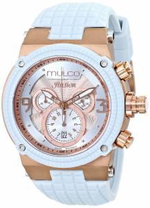 [マルコ]MULCO 腕時計 Ilusion Analog Display Swiss Quartz Blue Watch MW3-12140-413 ユニセックス [並行輸入品]