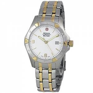 [ウェンガー]Wenger 腕時計 Swiss Made Analog Round Watch Steel Bracelet 79237 メンズ [並行輸入品]