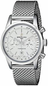 [ブライトリング]Breitling 腕時計 Analog Display Swiss Automatic Silver Watch A4131012-G757SS メンズ [並行輸入品]