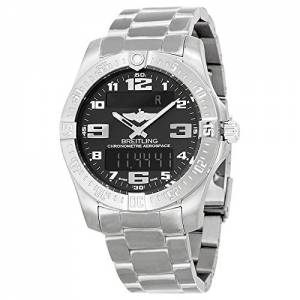 [ブライトリング]Breitling Aerospace Evo Analog Display Quartz Silver Watch BTE7936310-BC27TI