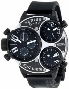 [ウェルダー]Welder 腕時計 K37 Analog Display Quartz Black Watch 6502 ユニセックス [並行輸入品]
