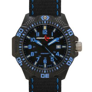 Armourlite Caliber Series Tritium Watch in Blue