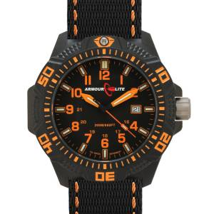 [アーマーライト]Armourlite 腕時計 Caliber Series Tritium Polycarbon Watch in Orange AL602 orange [並行輸入品]