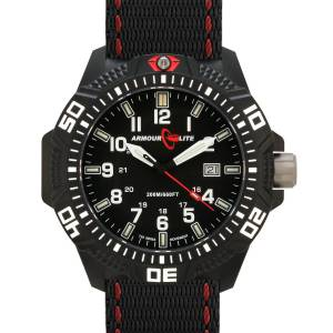 Armourlite Caliber Series Polycarbon Tritium Watch in Black